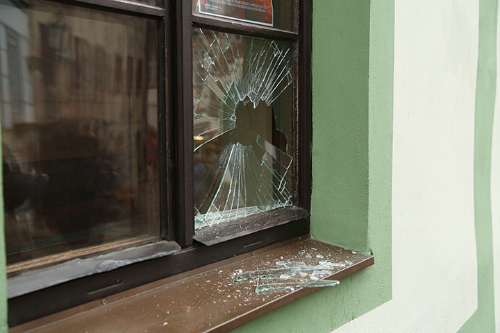 A2B Glass are able to board up broken windows while they are being repaired in South Acton.